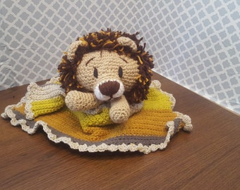 Baby Lion Security Blanket