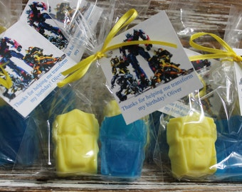 TRANSFORMER Party Favor Soaps