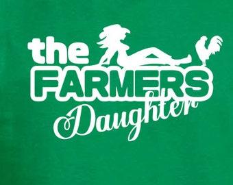 The farmers daughter. Custom handmade t-shirt