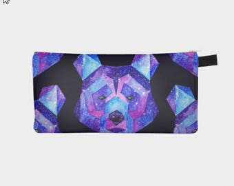 Small pencil case-pouches SPACE BEAR