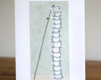Set of 10 Note Cards - Days Stack Up