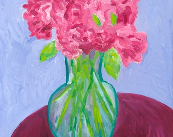 Limited Edition Archival Giclee Print: Wild Roses