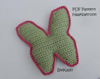 Crochet pattern Butterfly