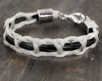 Custom horse hair bracelets and horse jewelry by shdstudios horsehair bracelet braided horse hair jewelry horse lover gifts equestrian bracelet equestrian solutioingenieria Choice Image