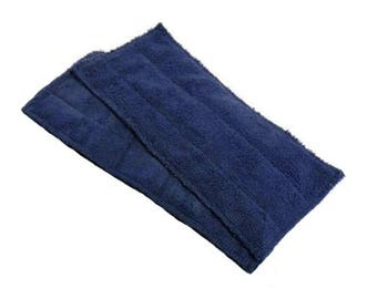 Bona/Starfiber Mop Eco Friendly Pads - Microfiber Mop Pads- NAVY- Set of 2- 24011
