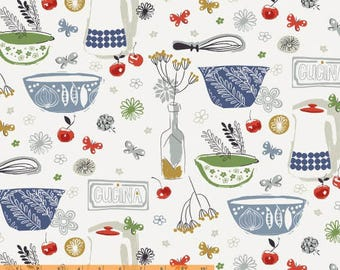Cucina - Italian Kitchen by Victoria Johnson from Windham Fabrics