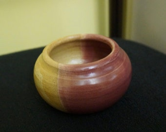 Small; Wheel Thrown Pot; Approx. 2 x 3.5 Inches; Rustic !!!