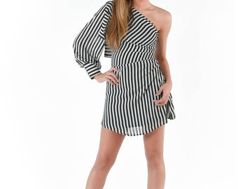 A Sight in Stripes Dress