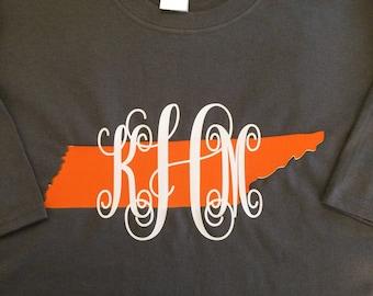 Tennessee Vols Monogrammed Shirt