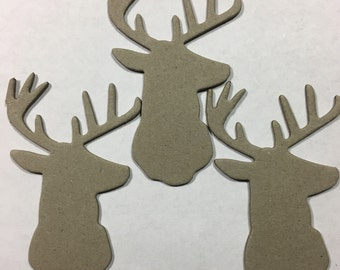 SALE - Chipboard Deer Set 3