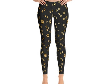 Paws Of Gold Leggings