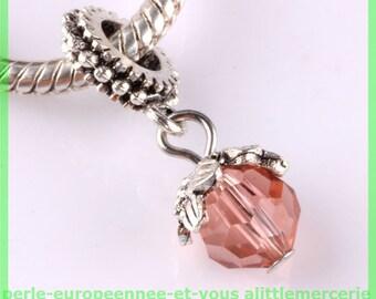 Pearl European bail N679 for bracelet charms