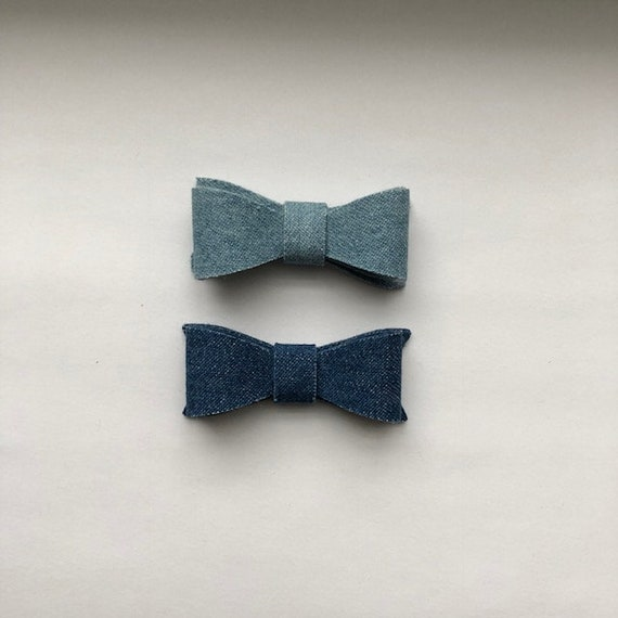 Denim Bow