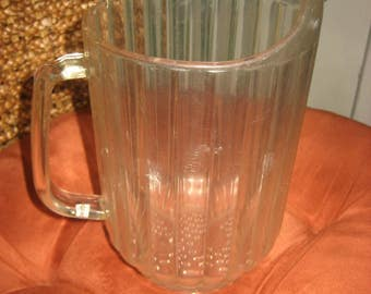 60 oz. Cambro Tavern Style Beer Pitcher made in Huntington Beach, USA