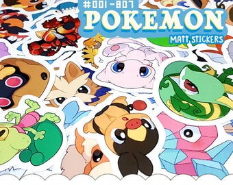 Pokemon Stickers | #001-802