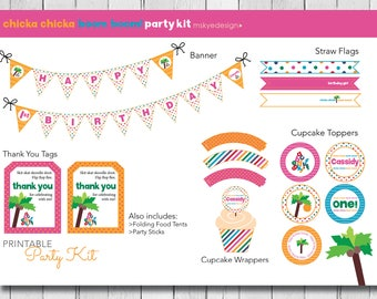 Chicka Chicka Boom Boom Party Kit {PRINTABLE}