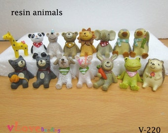 Lovely Resin Animal Figurine x 1 piece (V-220)