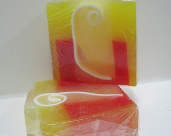 Handmade Glycerin Soap Bar - Apple Crisp Scented Soap
