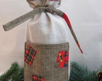 Bottle Bag Gift Bag Christmas