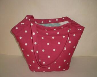 Bucket Bag, '50s Style, Shoulder Bag, Shopping Bag, Reversible
