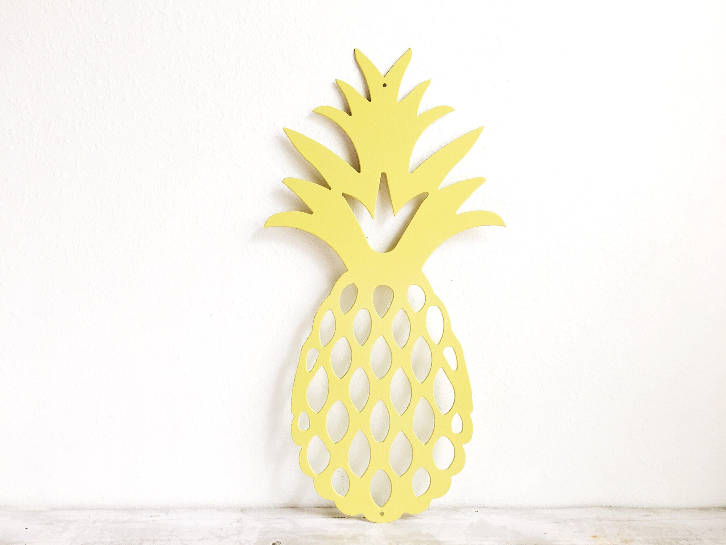 Cute Metal Pineapple Wall Decor Images - The Wall Art Decorations ...