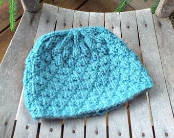 Instant Download Knitting Pattern - Womens Hat Knitting Pattern - Knit Hat Pattern Iotla Valley Beanie - Mens Beanie Pattern