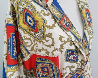 Vintage Weldon Baroque Style Dressing Gown
