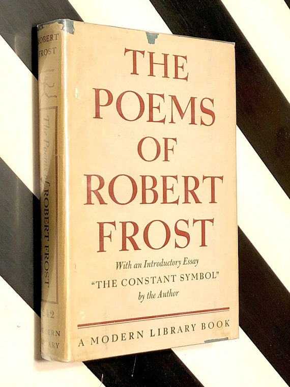 The Poems of Robert Frost (1946) Modern Library hardcover book