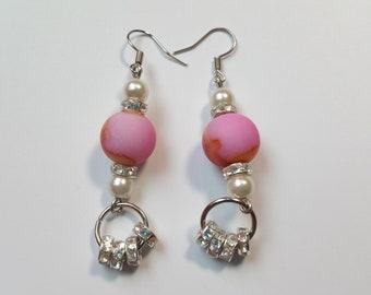 """Earrings """"Pink 10"""""""