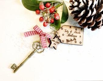 Santa's magic key , Personalised santa's magic key,  Christmas eve box filler, I believe.