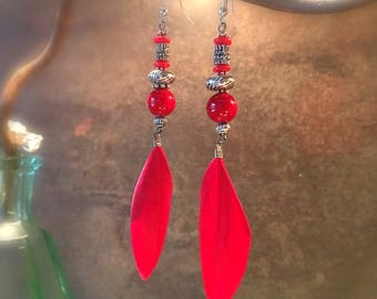 """Earrings ethnic """"Gorkha"""" - Collection """"Stops Nepalese"""" - chic and sophisticated"""
