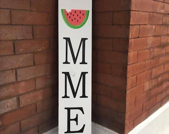 Summer wooden sign