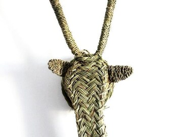 Grass Antelope Head