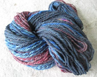 Hand Spun Yarn, Blue Heaven