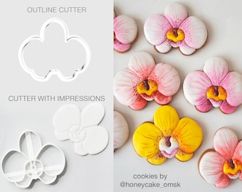 Orchid Cookie Cutter