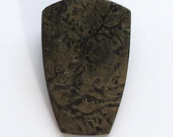Handmade OOAK Golden Pendant, Handmade Pendant, Polymer Clay pendant, Metallic Pendant, Textured Pendant, Mom Gift, Gift for Her