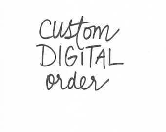 Custom Hand-Lettered PDF
