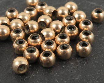 Gold Filled Smart Bead 4mm