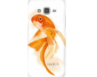 Smartphone Case Goldfish | goldfish art goldfish smartphone fish art case fish wall art goldfish painting fish illustration fish art