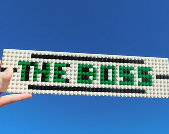 LEGO Name Plate