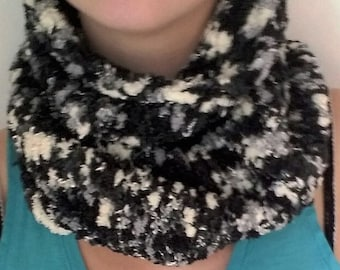 scarf-neckwarmer-made pipe, winter, love to needle