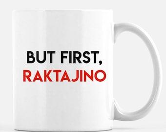 Star Trek Cup - Star trek mug - Raktajino - Klingon coffee  -Star Trek collectible - Star Trek coffee cup - Star Trek fan merchandise -