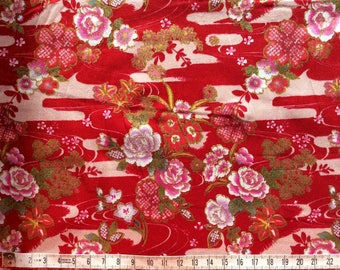 High quality cotton poplin, Asian print