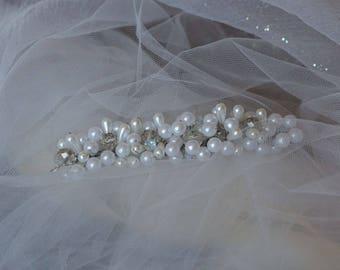 Wedding decoration in your hair Wedding jewelry Wedding comb