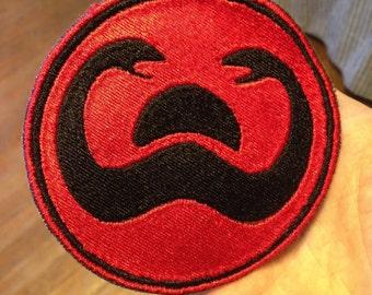 Conan the Barbarian: 4 inch Thulsa Doom's snake cult standard patch