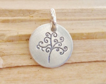 Tree of Life, Sterling Silver Charm
