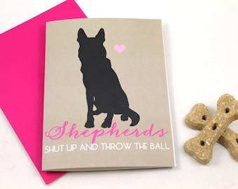 Shepherd / German Shepherd Card