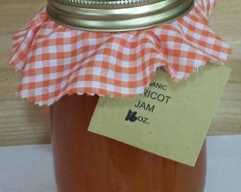 Organic Apricot Jam 16 oz.