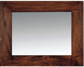 Rustic Mirror with Heavy Distressing, Sedona Style