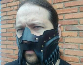 Dwarf Leather Mask